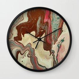 Fluid Royalty Wall Clock