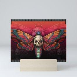 """Death colored moth"" Mini Art Print"