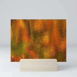 Autumn Abstract Mini Art Print