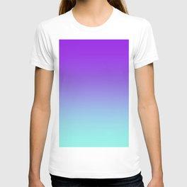 Purple Aqua Ombre T-shirt