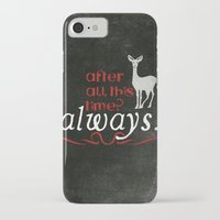 snape iPhone & iPod Cases featuring Harry Potter Severus Snape After all this time? - Always. by raeuberstochter