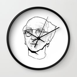 Larry David Wall Clock