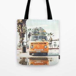 Surfing Day 3 Tote Bag