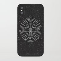 solar system iPhone & iPod Cases featuring SOLAR SYSTEM by Mírë