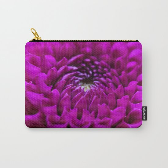 Pink Dahlia #1 #art #society6 Carry-All Pouch
