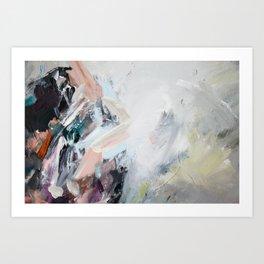 sonnet xvii abstract #2 Art Print