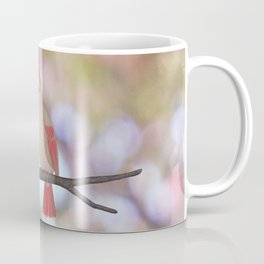psychedelic cardinals bokeh Coffee Mug