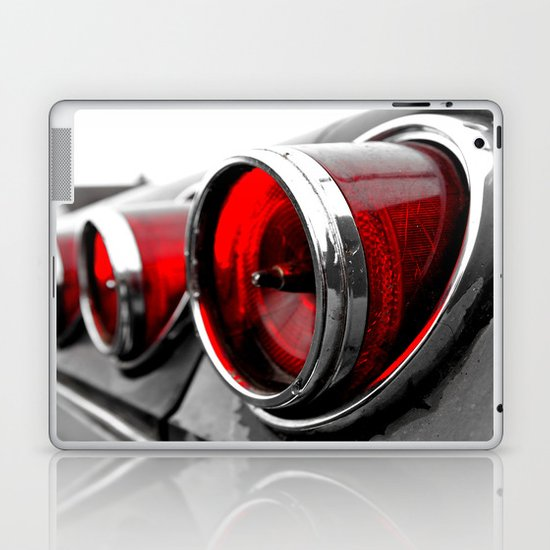 Impala taillights Laptop & iPad Skin