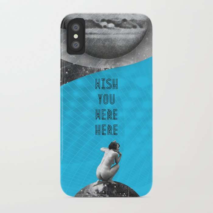 Wish you were here (Rocking Love series) iPhone Case