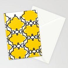 Geometric Painting. Brush Joy  Stationery Cards