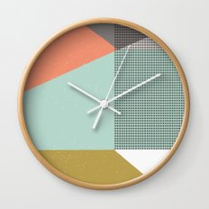 Farbe//Eight Wall Clock