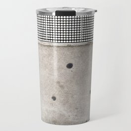 Cement Quilt Travel Mug