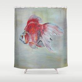 Ryukin Goldfish Shower Curtain