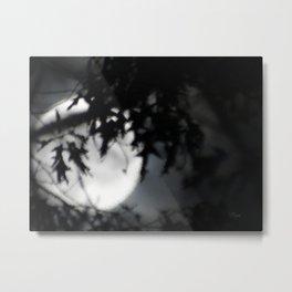 Faithful Moon Metal Print