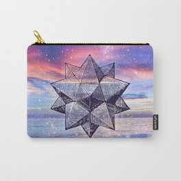 Sacred Geometry Universe 8 Carry-All Pouch