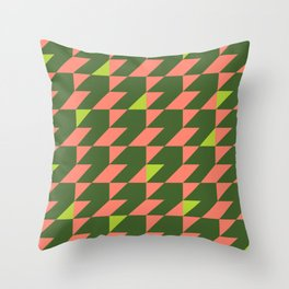Squished Tropical Dressing #1 Throw Pillow