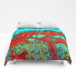 True blue Comforters