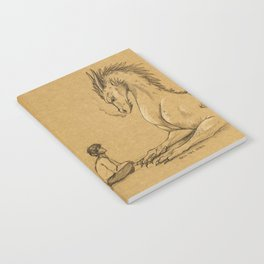 Strength of a Dragon Notebook