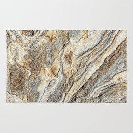 True gold marble in California desert (nature, love) Rug