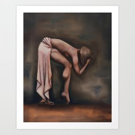 Contention Art Print