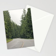 lonely road. Stationery Cards