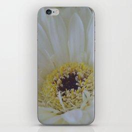 White Dahlia iPhone Skin