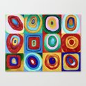 Colorful circles tile by catyarte