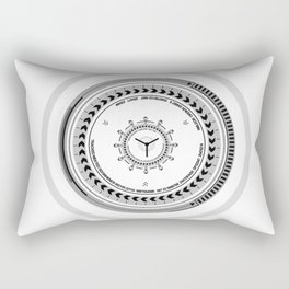 Lens From The Future  Rectangular Pillow