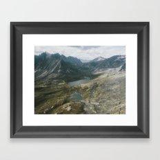 Mackenzie Mountains Framed Art Print