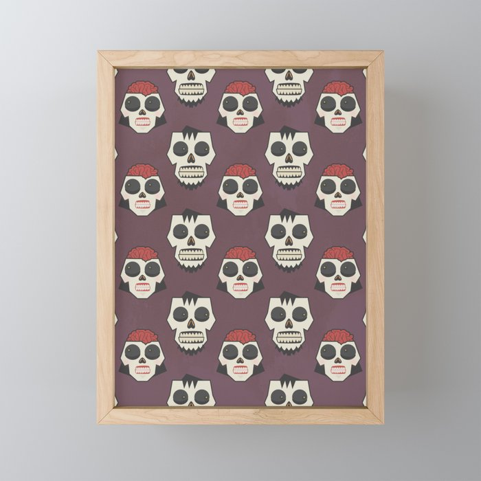Till Death Do Us Part? (Patterns Please) Framed Mini Art Print