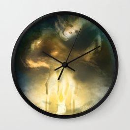 Light the Darkness Wall Clock