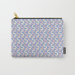 Upper Case Letter S Pattern Carry-All Pouch