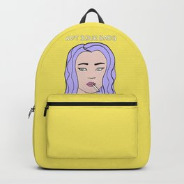 Not Your Baby #society6 #grlpwr Backpack