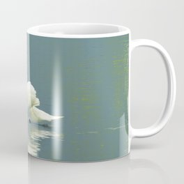 Mute Swan on The Avon River Coffee Mug