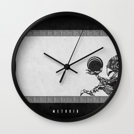 Metroid - The Chozo Geek Line Artly Wall Clock