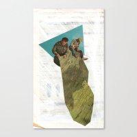 stitch Canvas Prints featuring Stitch by WILL RHODES
