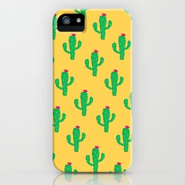 Pattern #13 B: Cactus iPhone Case