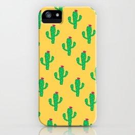 Pattern #13 B: Cactus iPhone Case