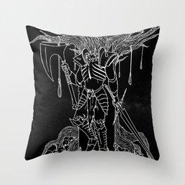 Headless Horseman Throw Pillow