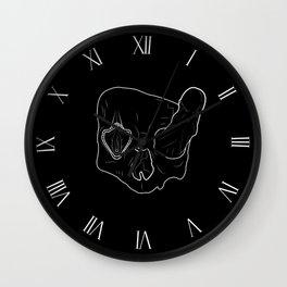 Death Head Sex Head Wall Clock