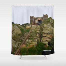 East Cliff Lift Shower Curtain