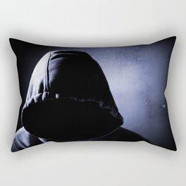dangerous man in the shadow Rectangular Pillow