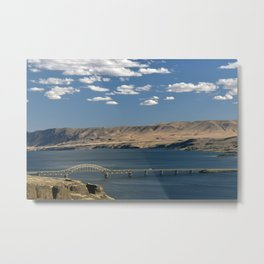 Vantage Bridge Metal Print