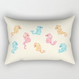 Pygmy seahorses Rectangular Pillow