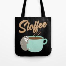 Sloffee   Coffee Sloth Tote Bag