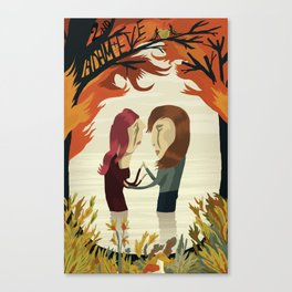 (2nd) Adam and Eve Canvas Print