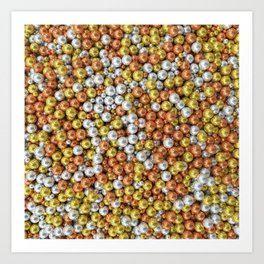 Precious Pearls - The Bigger Picture Art Print