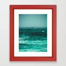 the bluest thing on earth Framed Art Print