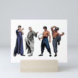Kung Fu Legends Mini Art Print