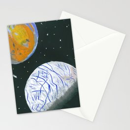 Europa and Io Stationery Cards